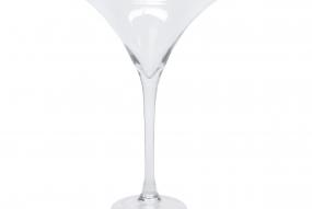Coupe à cocktail en verre soufflé à la boucheD24x50cm