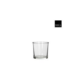 Kenny cylinder verre transparent - h10xd10cm