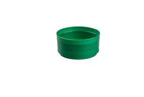 COUPE PLASTIQUE FANTASY VERTE D22cm 6pcs