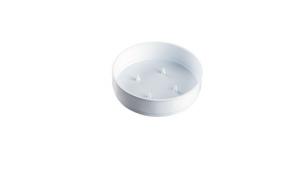 COUPE PLASTIQUE OLYMPIA BLANCHE D18cm 11pcs