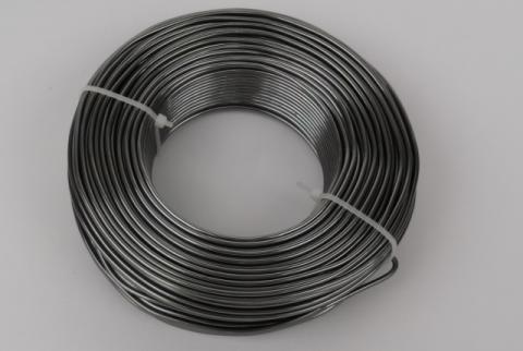 Fil d'aluminium Anthracite 2mm