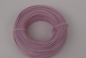 Fil d'aluminium 2mm,rose