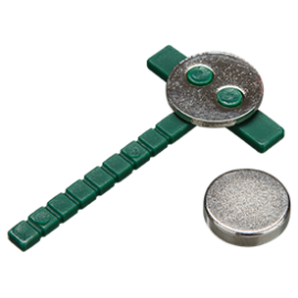 BOUTONNIERES MAGNETIC VERT