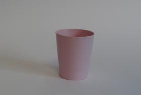 """cache-pot orchidée """"Merina""""rose clair mat"""