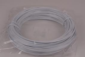 Fil d'aluminium 2mm,blanc