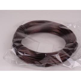 Fil d'aluminium 2mm, choco